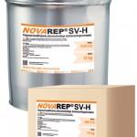 NOVAREP SV-H - Polymermodifizierte, bitumenhaltige Schienenfugenmasse